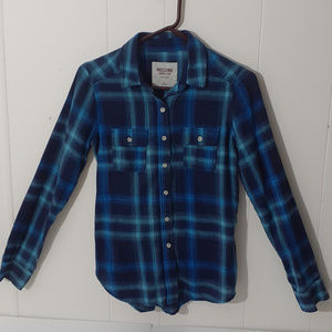 Men's Mossimo  Button Down Flannel Shirt